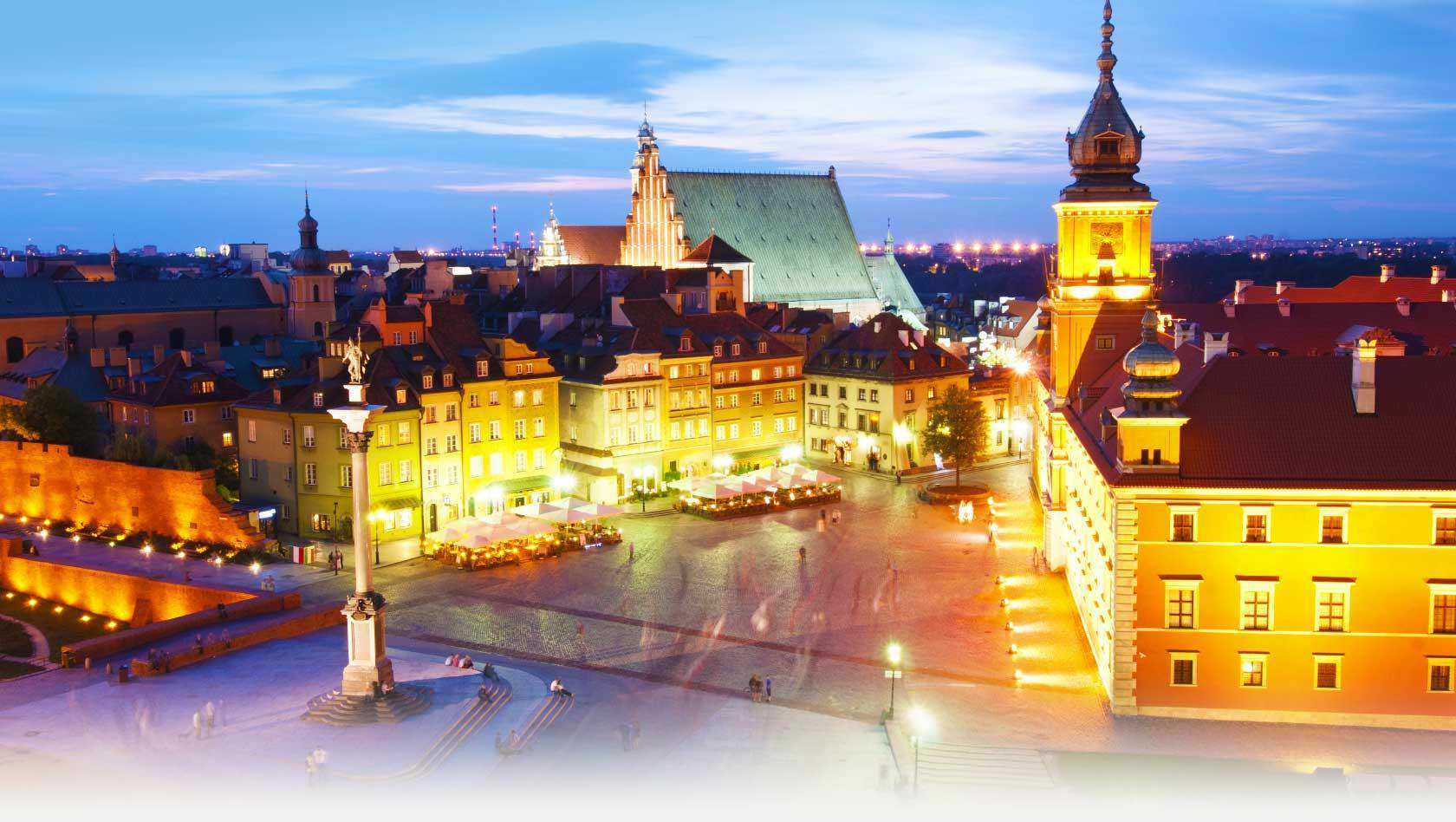 These Are The Cheapest European Cities To Visit This Easter warsaw