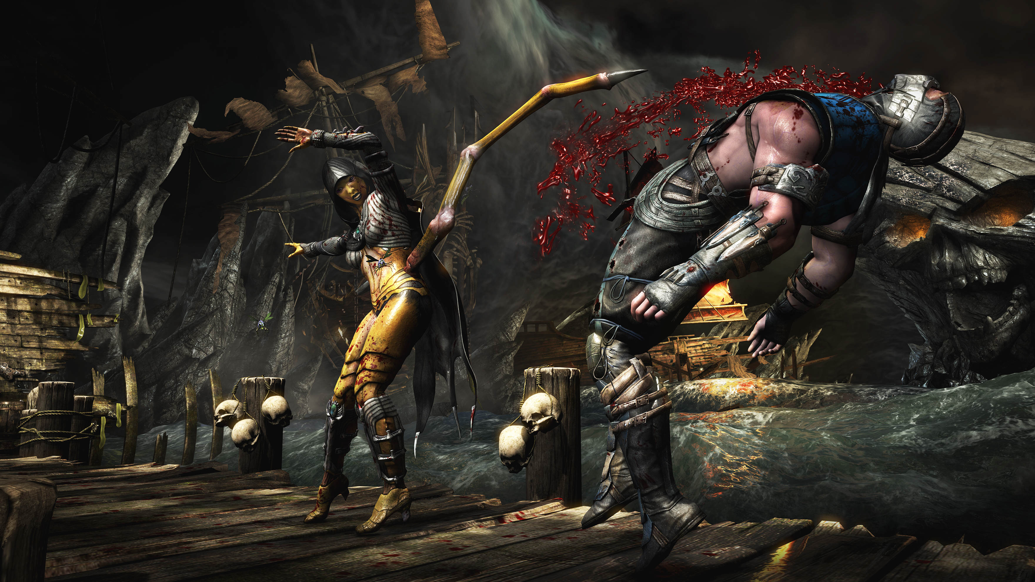 Every Mortal Kombat Fatality Ever, Supercut Into One Gruesome Video 2559554 mortalkombatx dvorah subzero cove stab