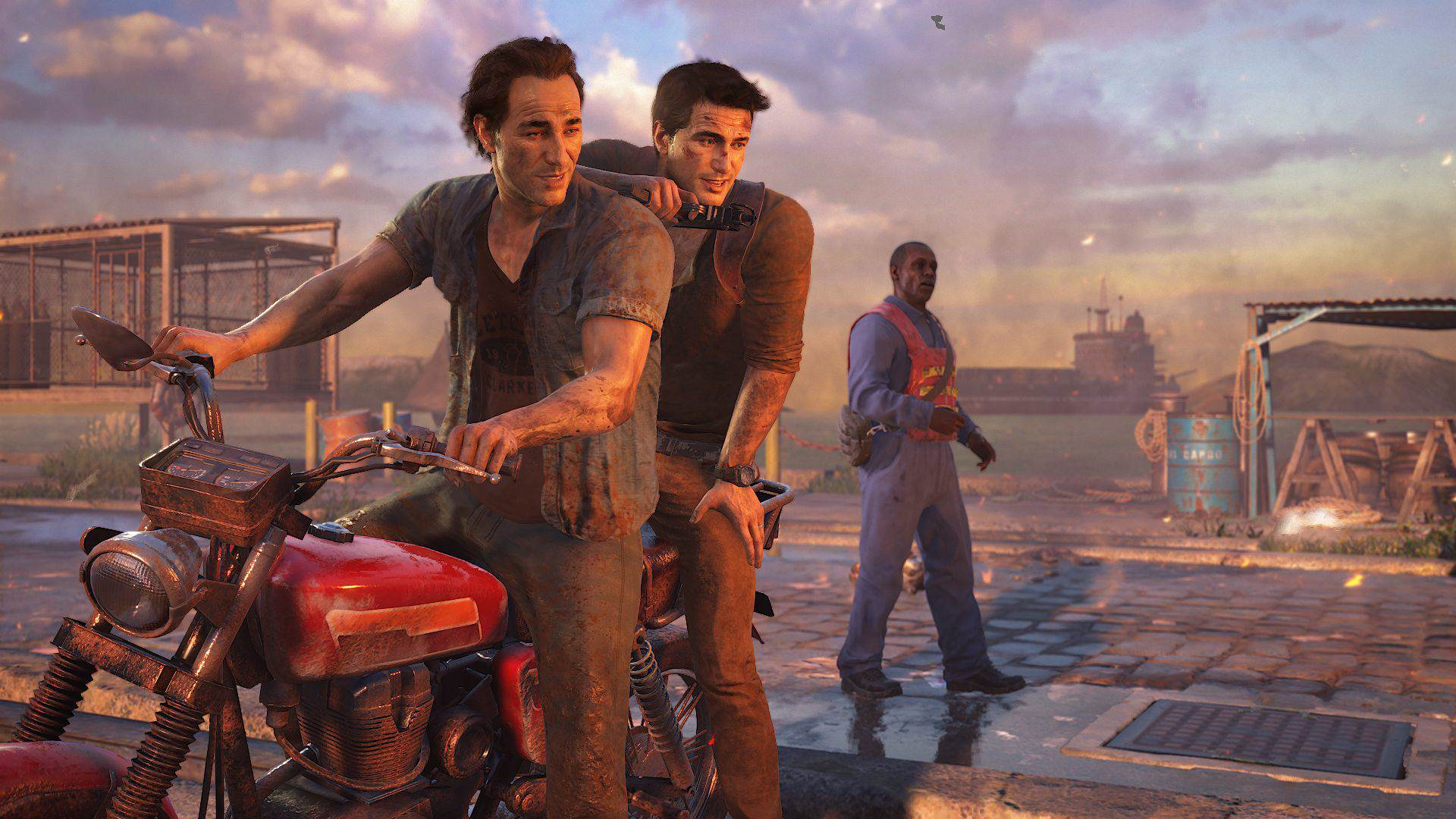 Uncharted 4 Opening Sequence Will Blow You Away, Says Dev 2759116 uncharted 4 drake sam survived 1434429055
