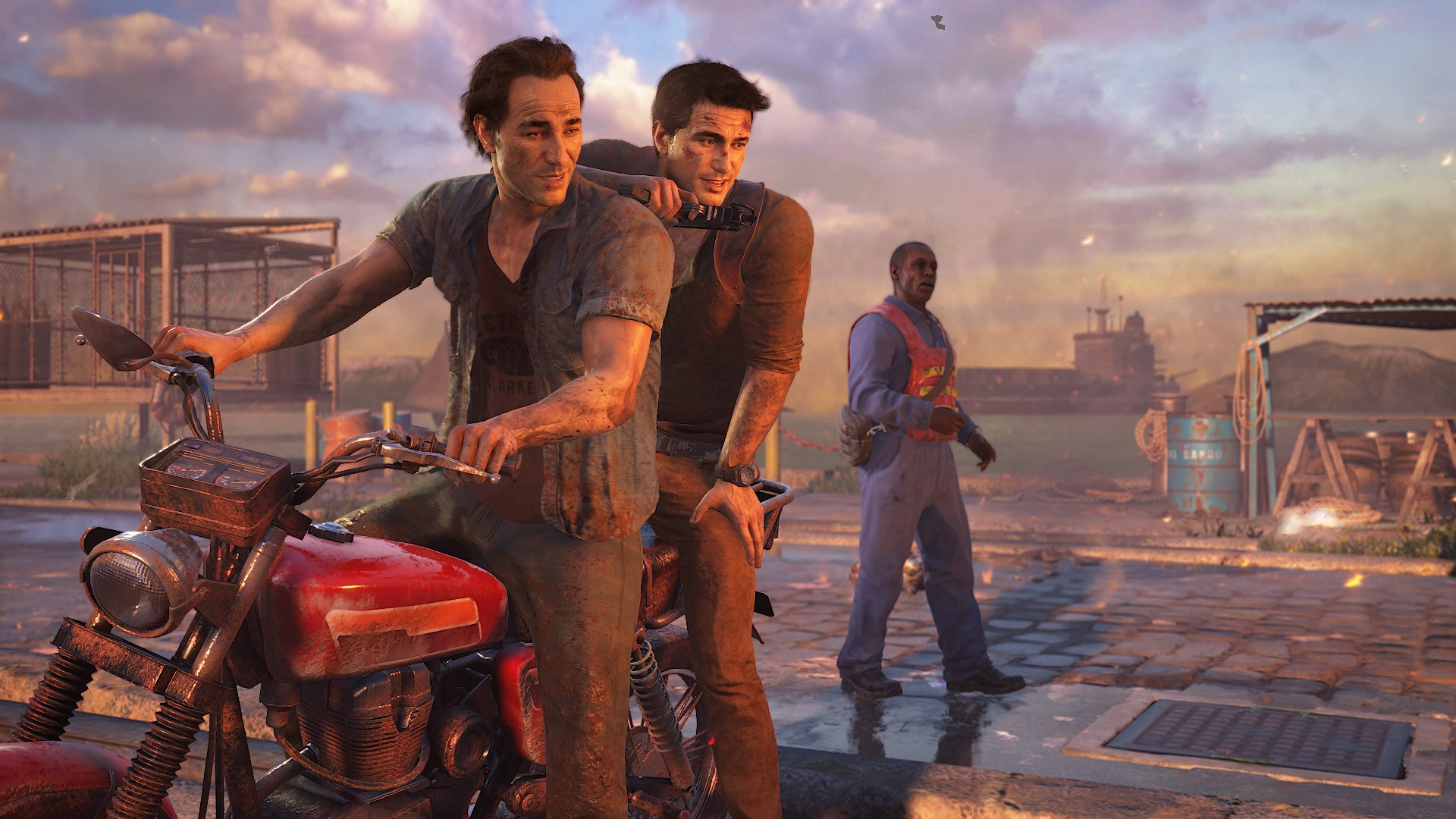 Uncharted 4 Apparently Had A Massive Set Piece Cut 2886491 uncharted 4 drake sam survived