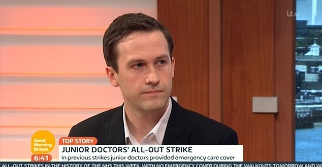 Junior Doctor Drops Huge Bombshell On Live TV 338382FA00000578 0 image a 9 1461567271819