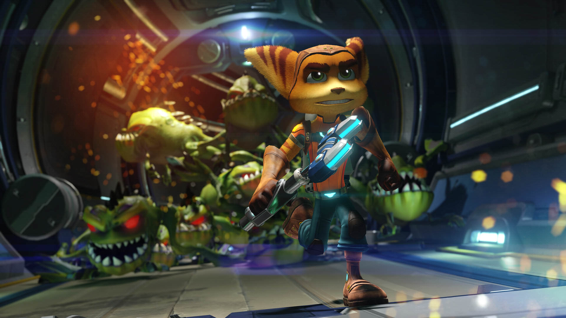 Ratchet & Clank Gets Last Minute Patch To Block Spoilers 4623709 3716010598 ratchet and clank screen 05 ps4 eu 02jun15
