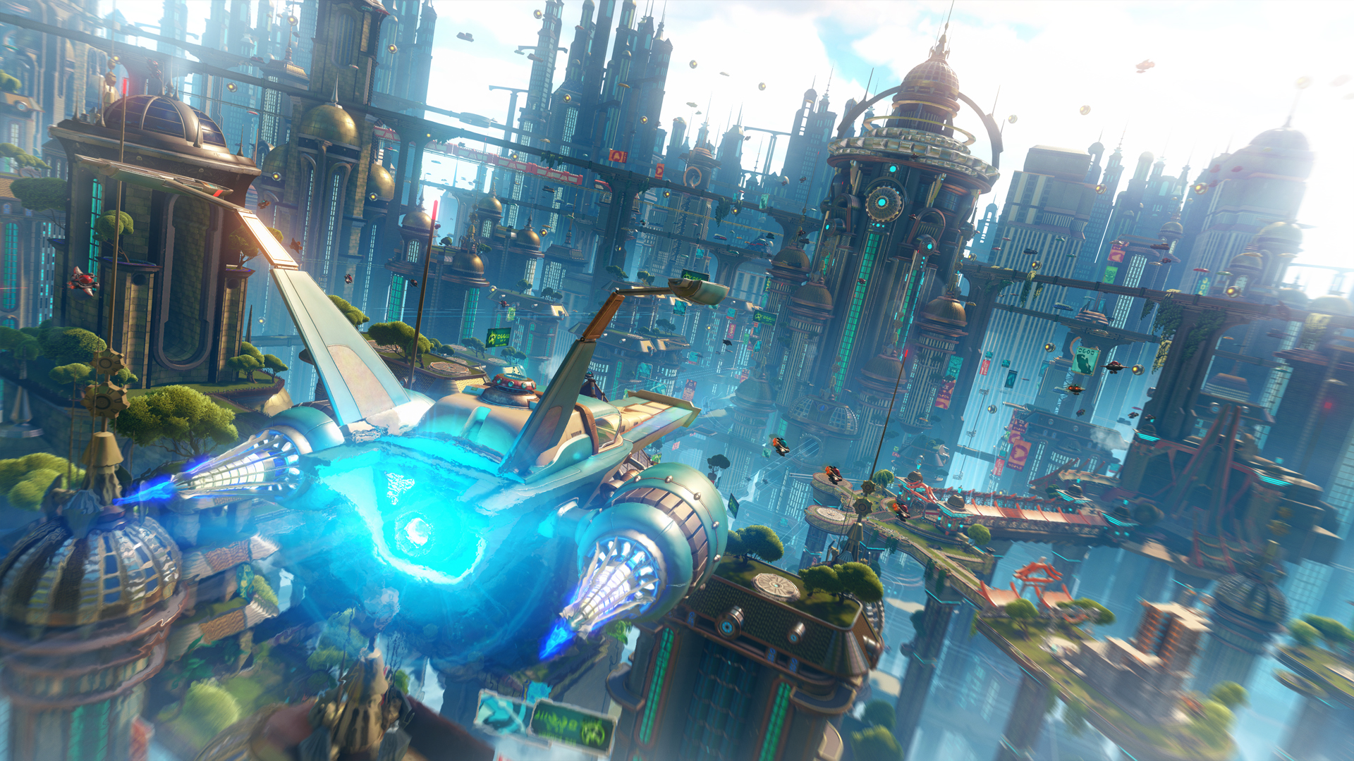 Ratchet & Clank Is A Love Letter To A Treasured Franchise 5 metro ship