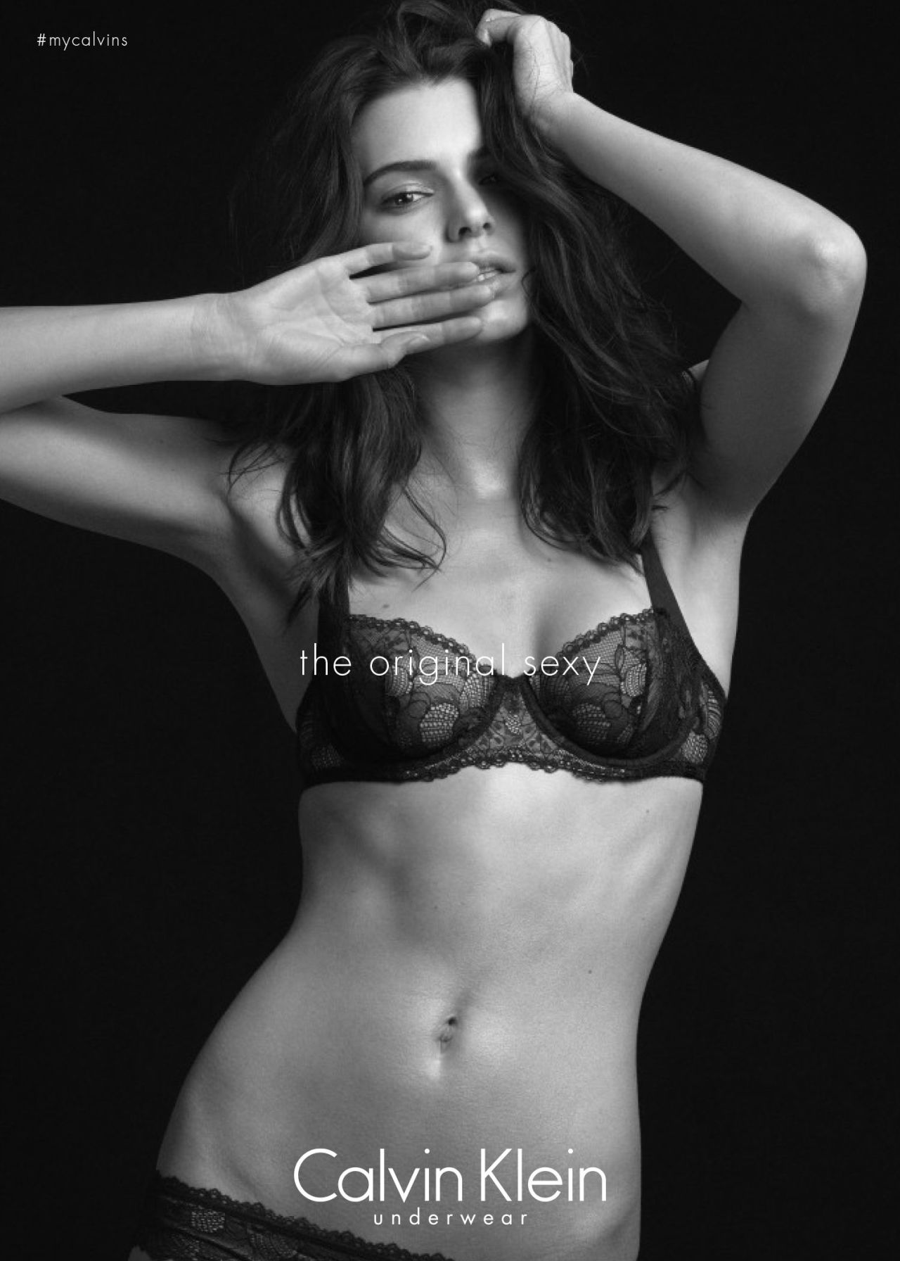 Blogger Recreates Kendall Jenner Underwear Ad For Powerful Reason 61903 ck7jpg