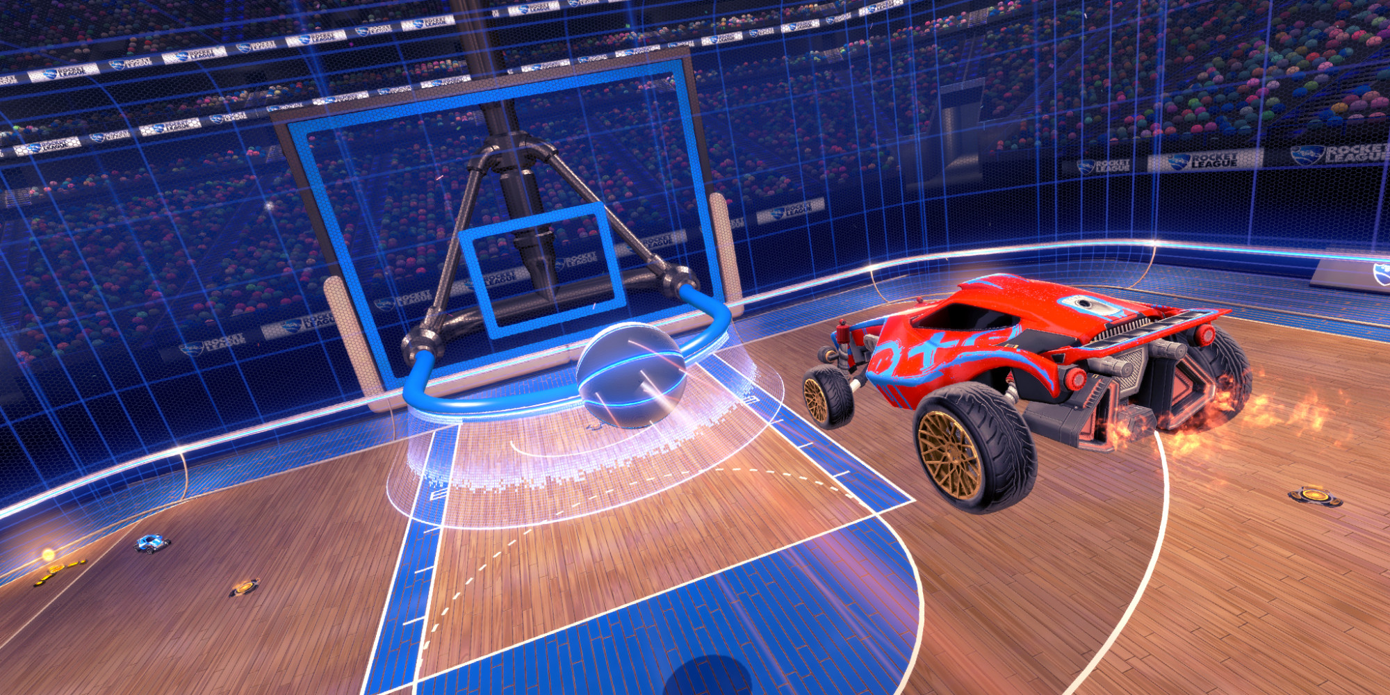 Rocket League Devs Show New Basketball In Action BigHoops