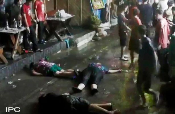 British Family Knocked Unconscious By Brutal Gang Attack In Thailand British family brutally assaulted in Hua Hin Thailand 4