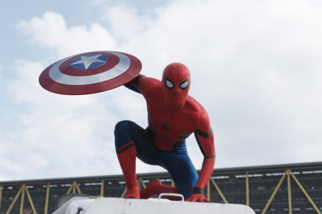 Our Spoiler Free Review Of Captain America: Civil War Captain America Civil War Spider Man Shield Official 640x426