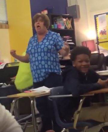 Teacher Arrested After Video Of Her Repeatedly Hitting Student Goes Viral Capture1