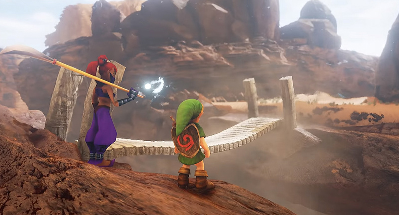 Another Ocarina Of Time Location Stunningly Remade In Unreal