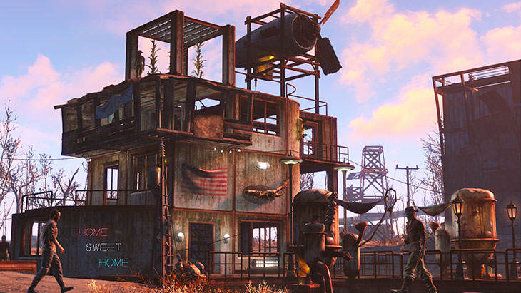 Start Your Own Deathclaw Fight Club In Fallout 4s Next Expansion Fallout4 WastelandWorkshop02 730x411