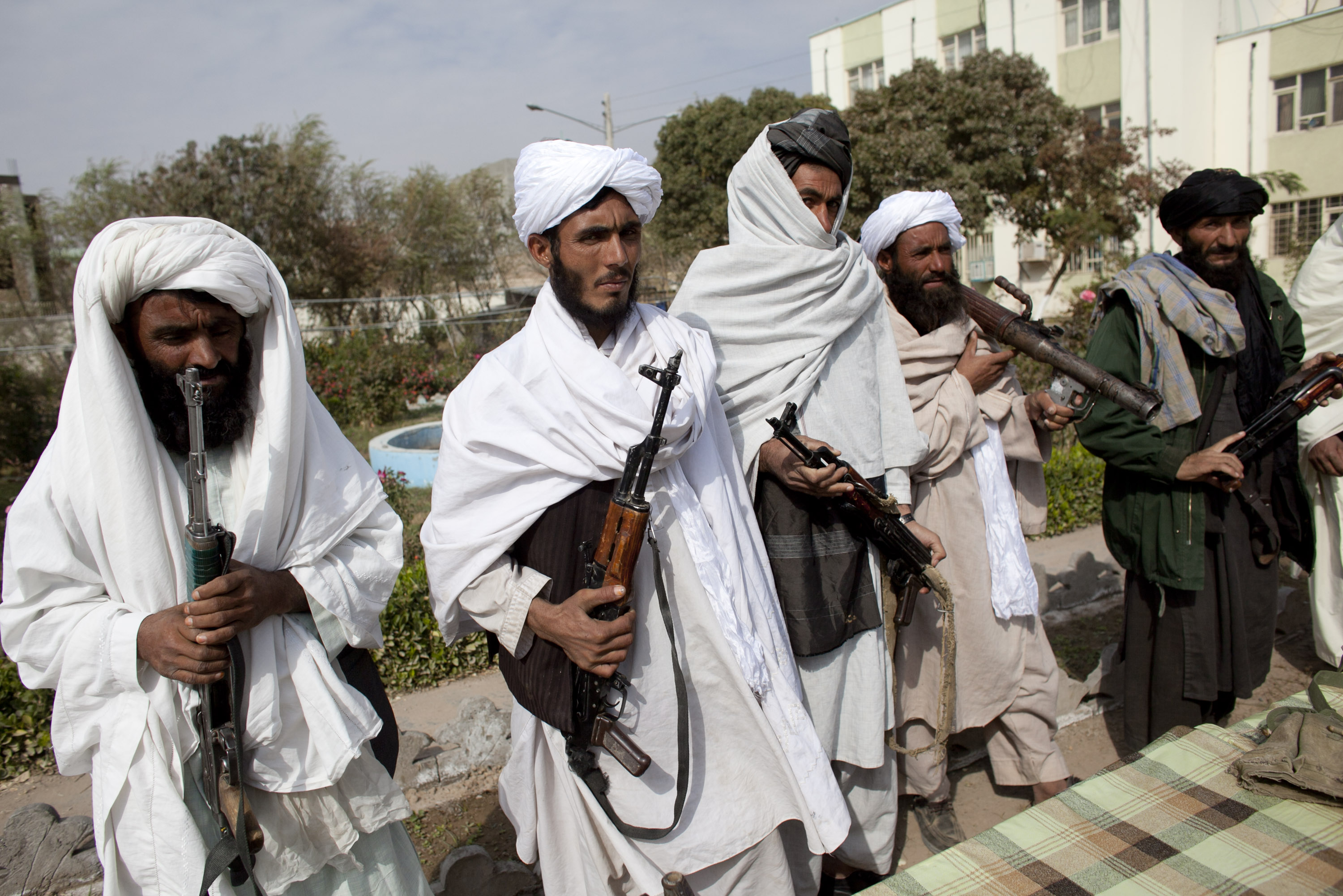 Taliban Militants Surrender In Herat Province