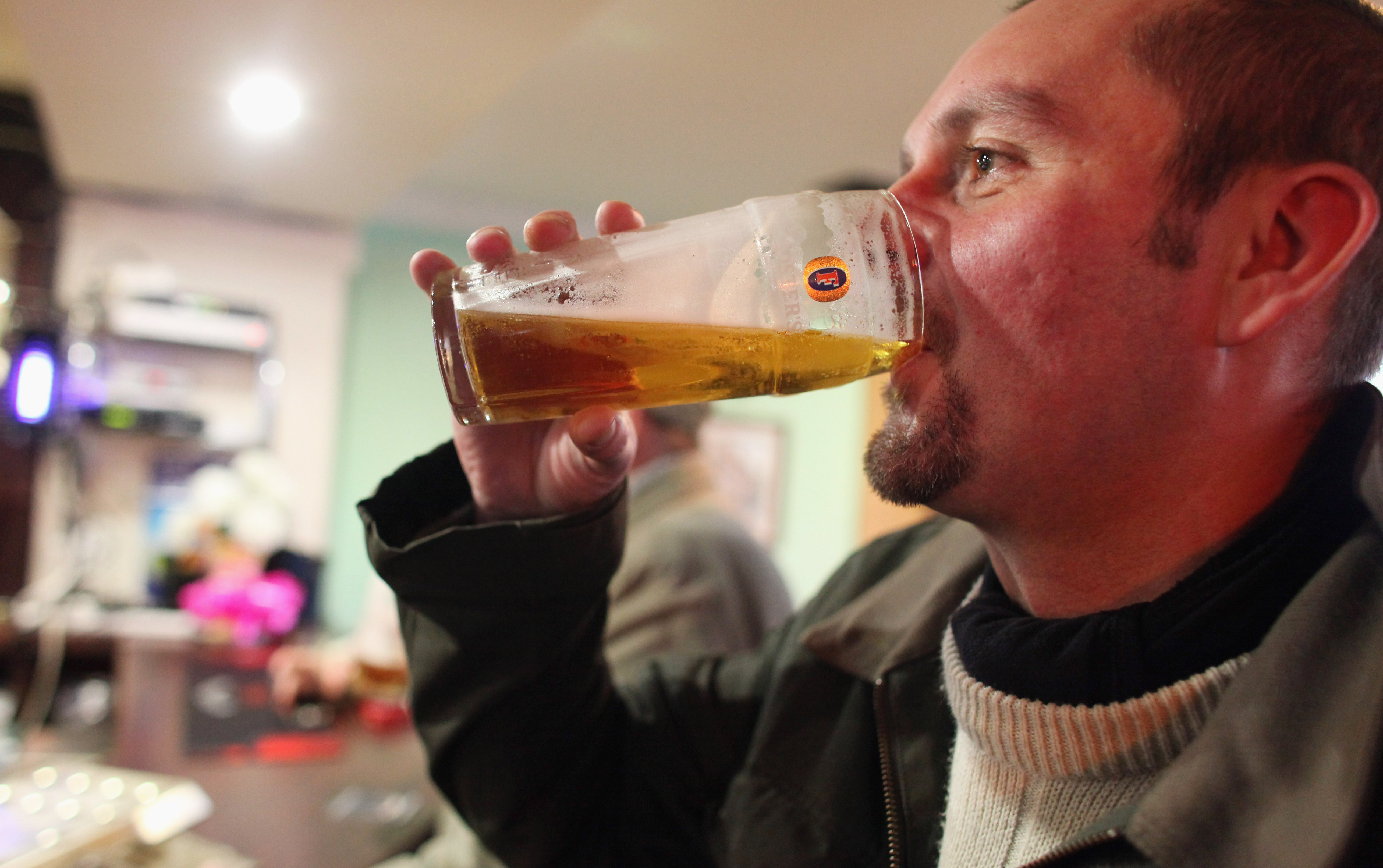 Drinking Beer Can Help You Lose Weight, According To Science GettyImages 106669048