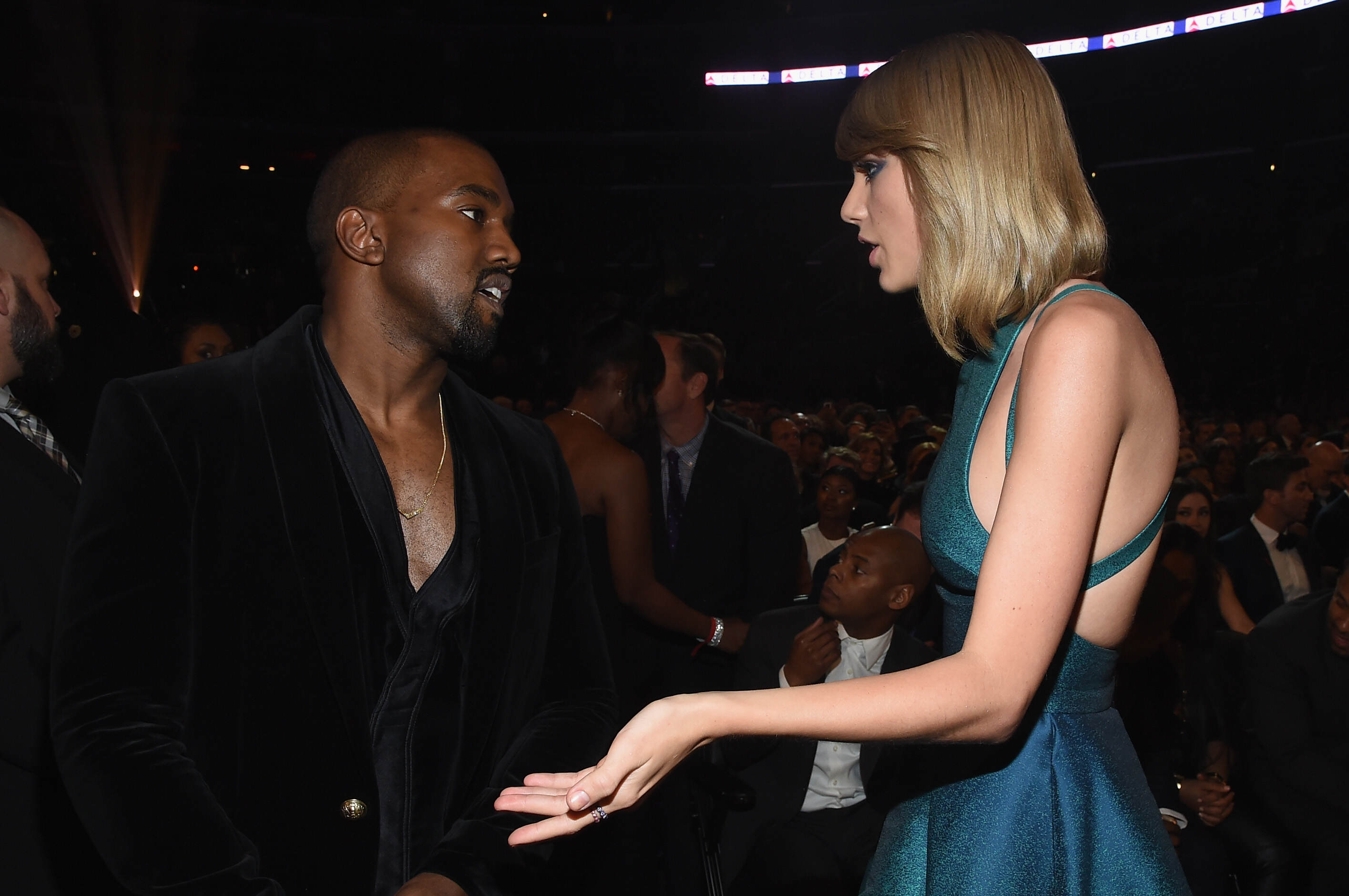 Kanye West Is Speaking Out About Taylor Swift Again GettyImages 463036374
