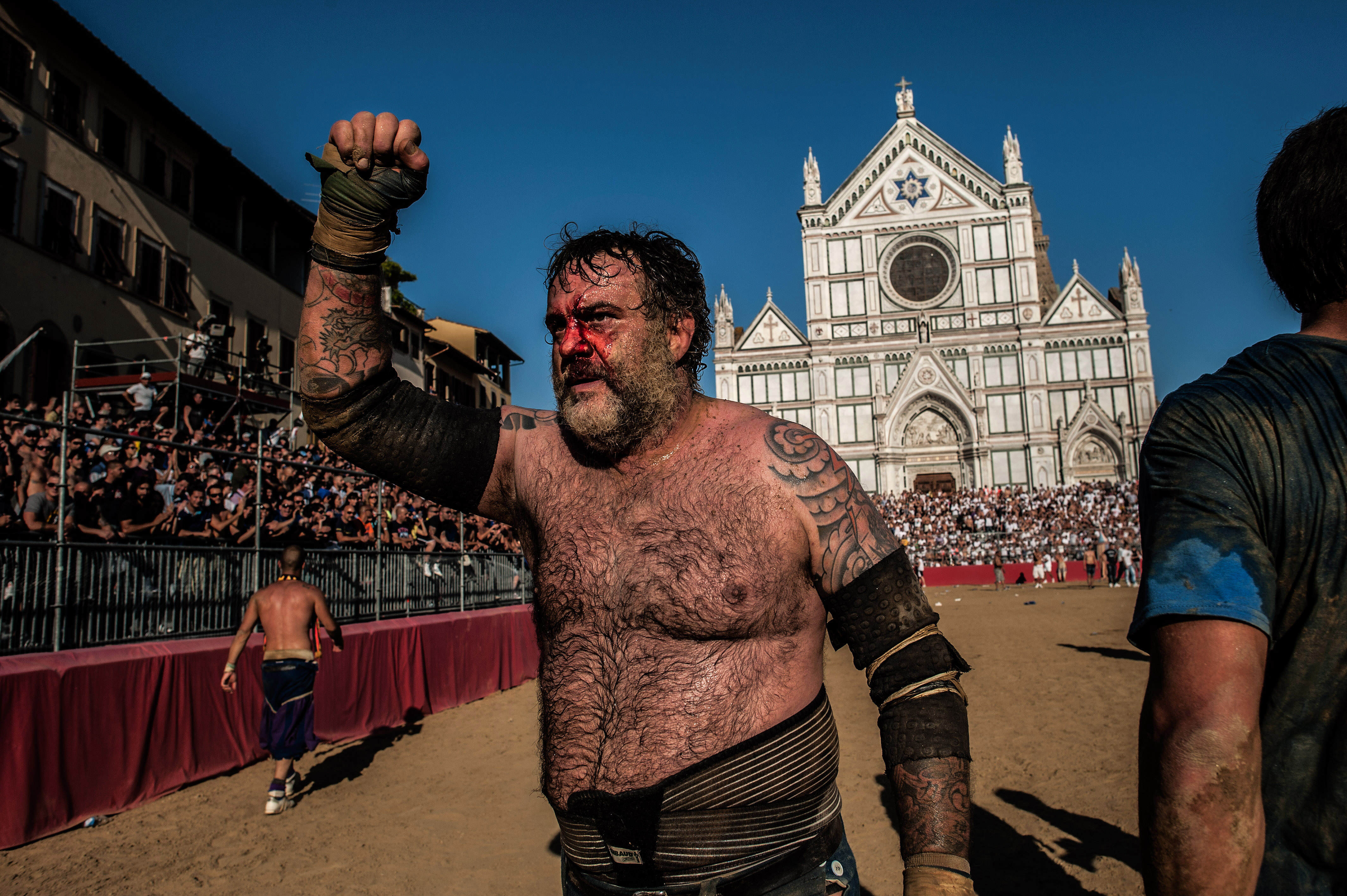 The Most Violent Sport In The World Is Making A Comeback In June GettyImages 499943284