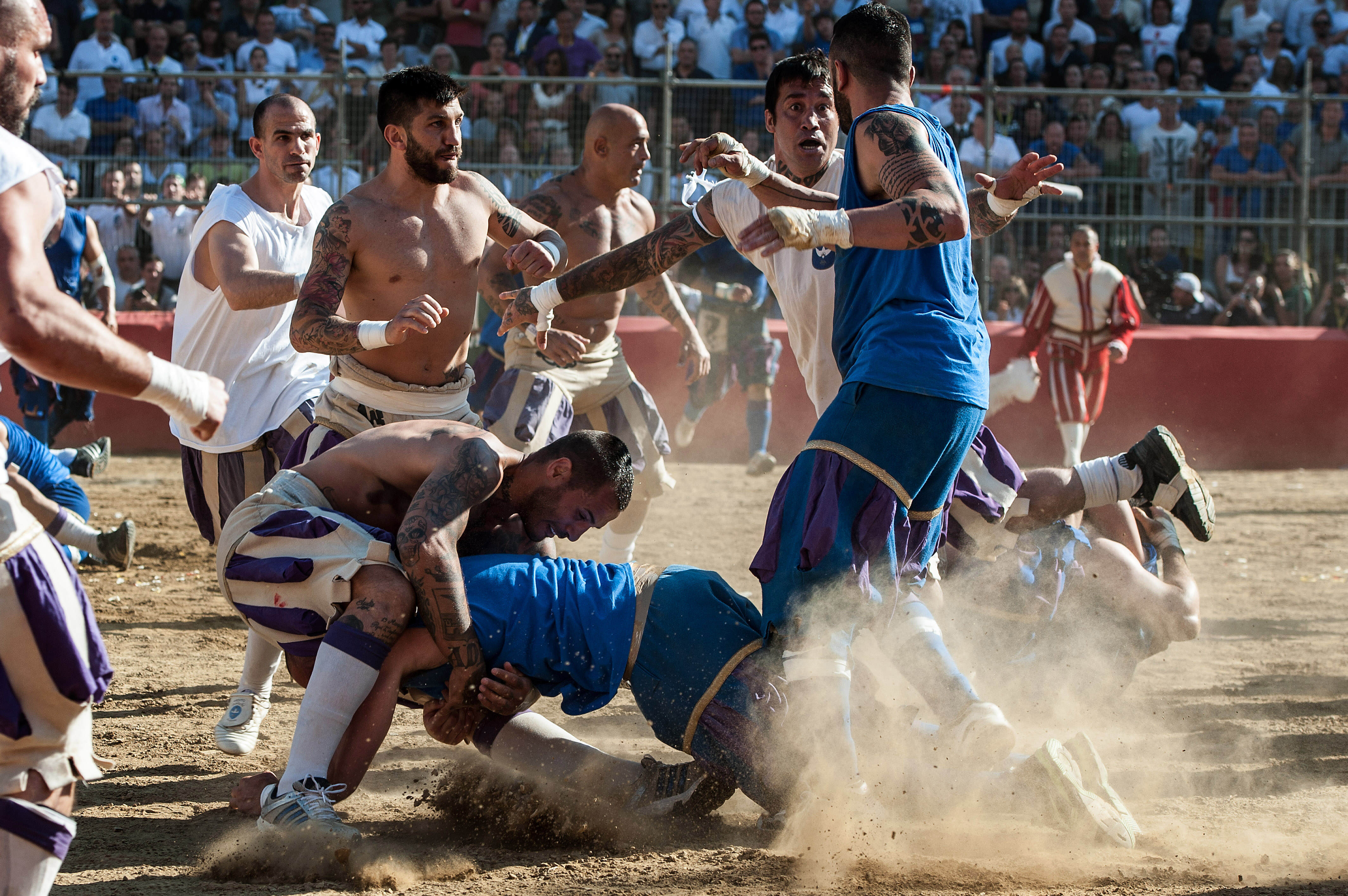 The Most Violent Sport In The World Is Making A Comeback In June GettyImages 499943298