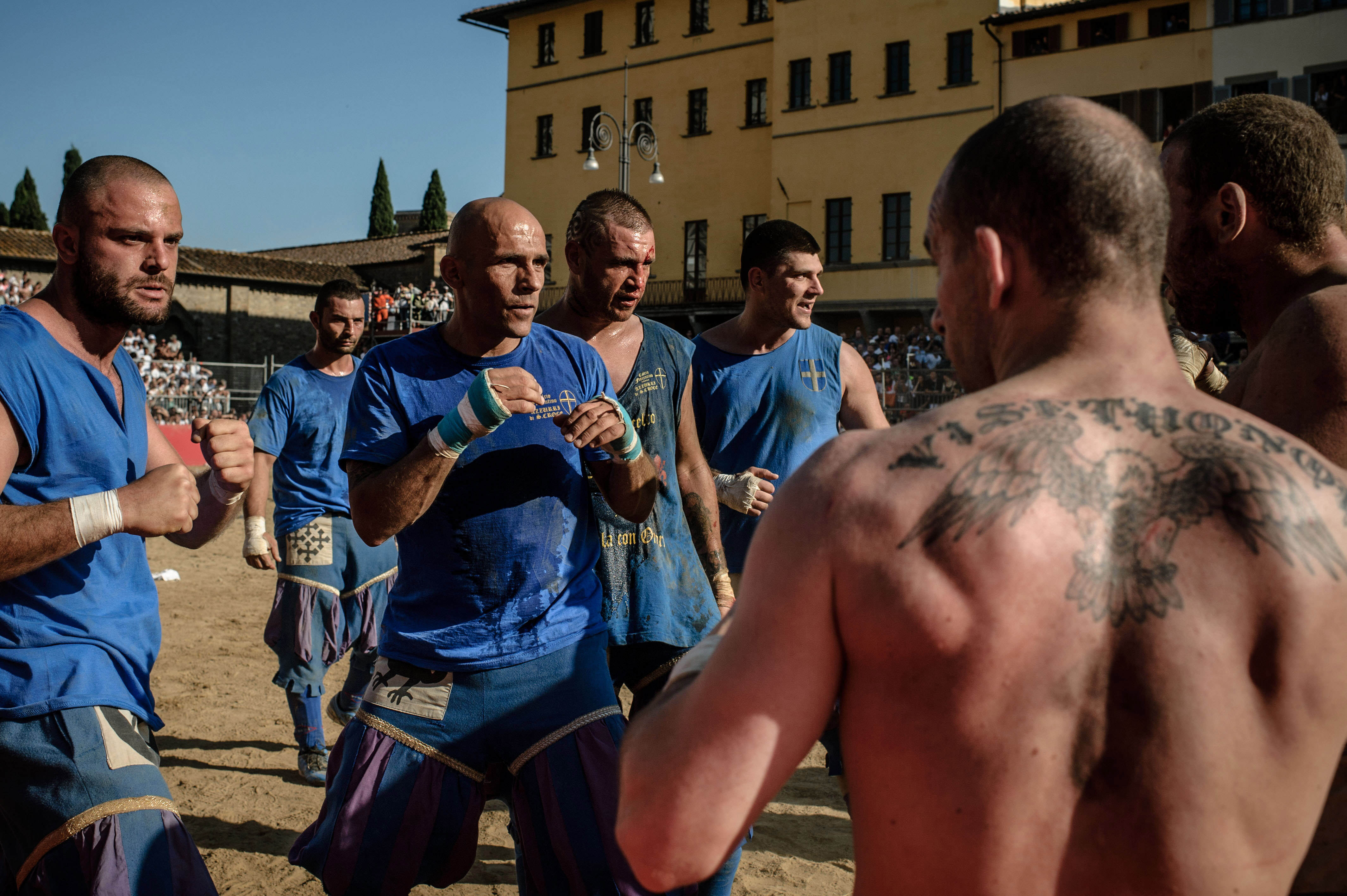 The Modern-Day Gladiators of Calcio Storico