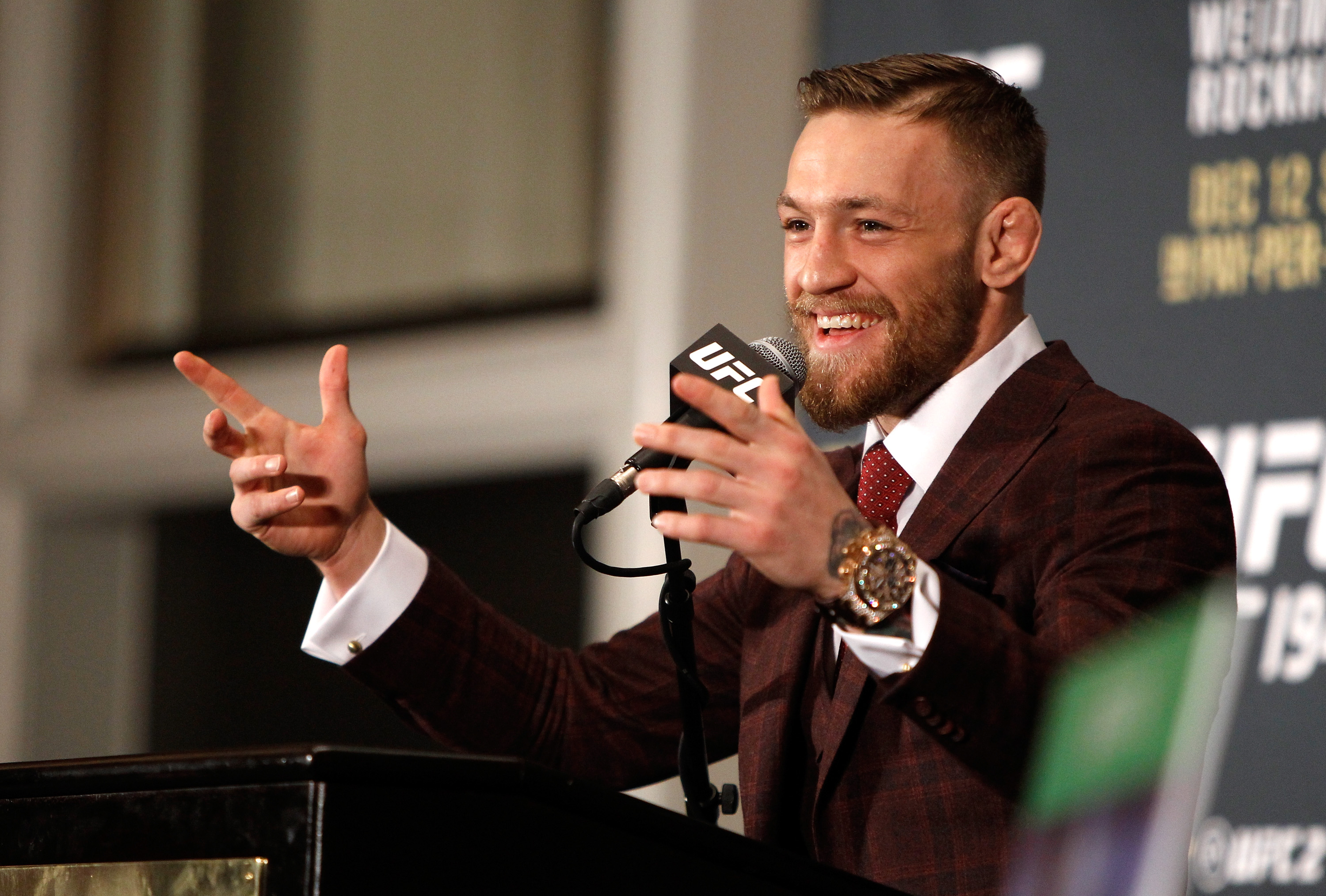 Conor McGregor Fires More Shots At UFC As Stand Off Continues GettyImages 501174988