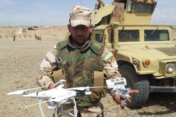 ISIS Step Up Military Capabilities With Frightening New Development ISIS DRONE