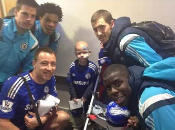 John Terry Shows Rare Moment Of Class With Touching Gesture JT tommi cfc