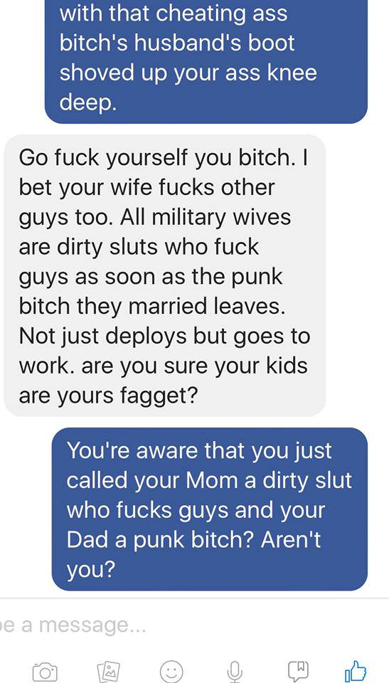 Guy Tells Stranger Hes Sleeping With Soldiers Wife, Instantly Regrets It Jodie7