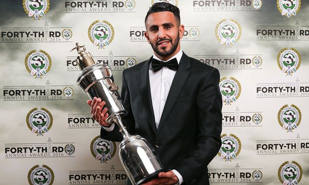 UNILAD Footballs Weekly Awards Mahrez poty guardian