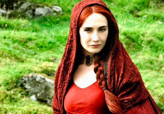 Twitter Catches Fire After Melisandre's Game Of Thrones Reveal Melisandre 02 up