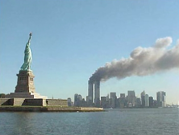 Obama Could Release Controversial Top Secret 9/11 Document National Park Service 9 11 Statue of Liberty and WTC fire