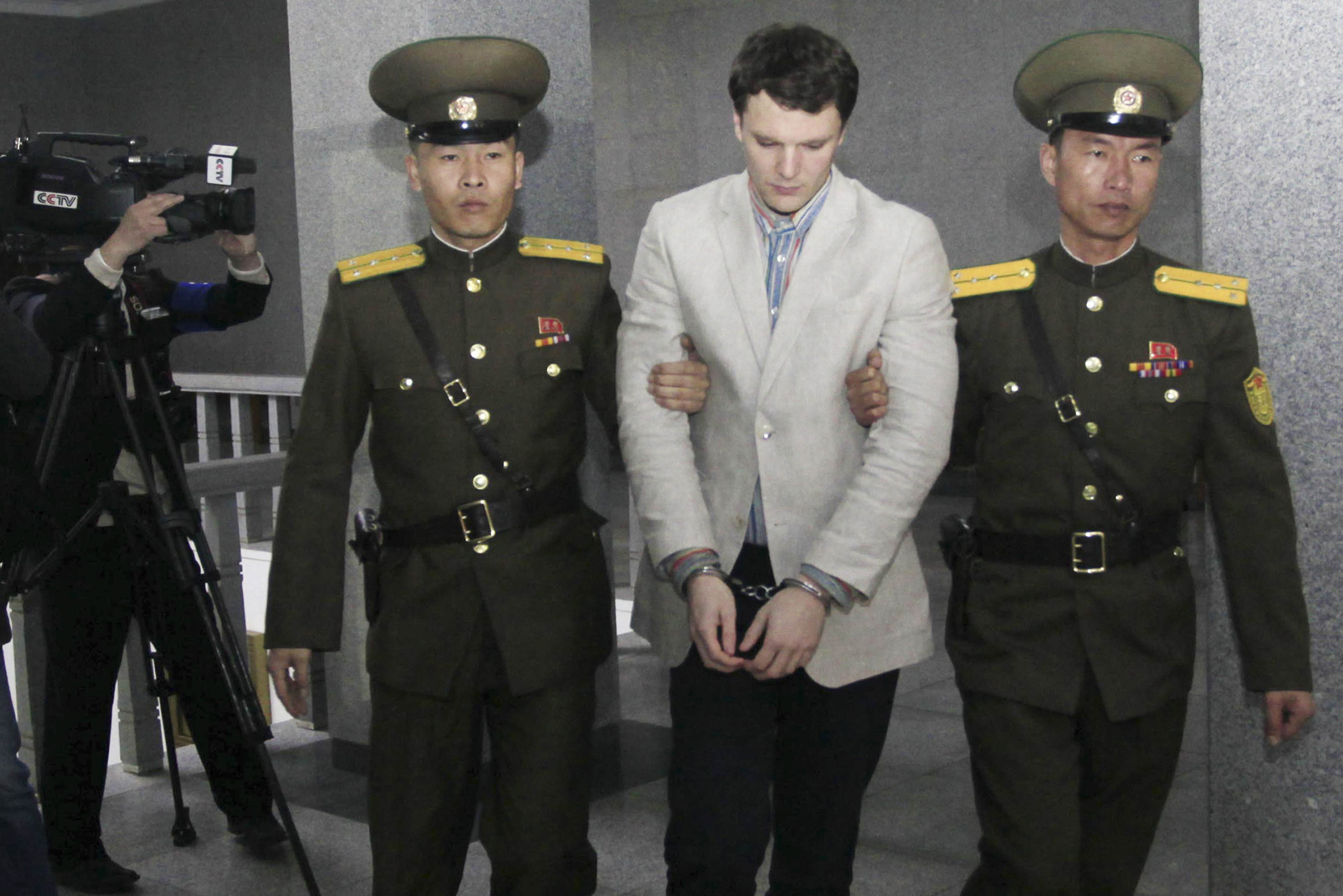 North Korean Escapee Says U.S. Student Faces Horrific Life In Auschwitz Labour Camps PA 25839322