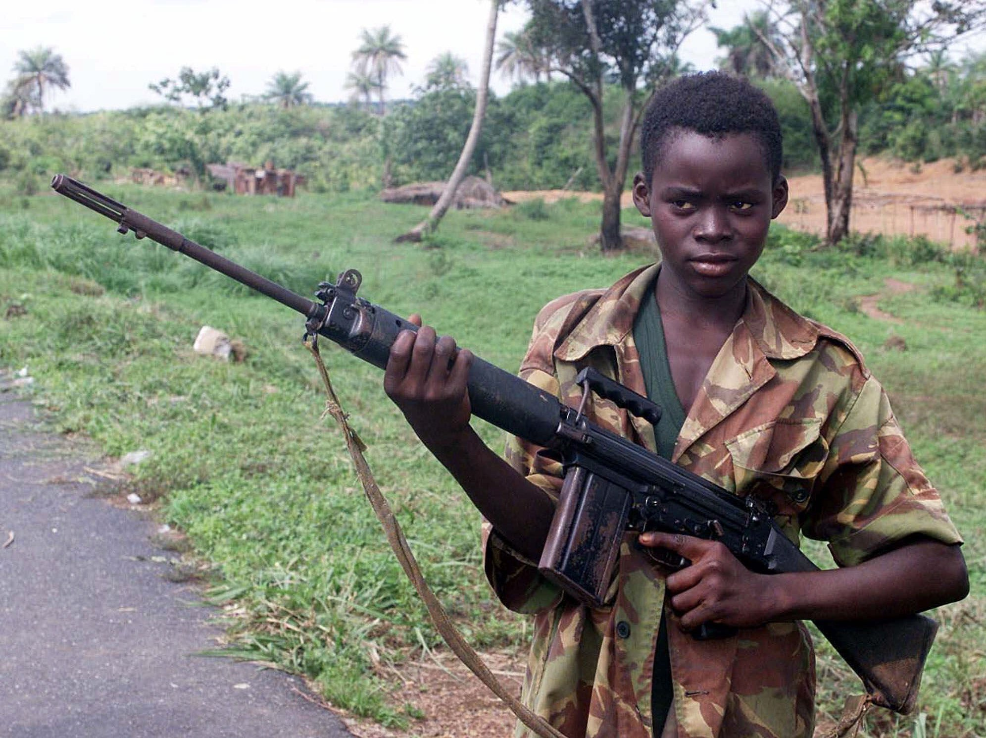 UK Company Hired Former Child Soldiers To Fight As Mercenaries In Iraq PA 2897855