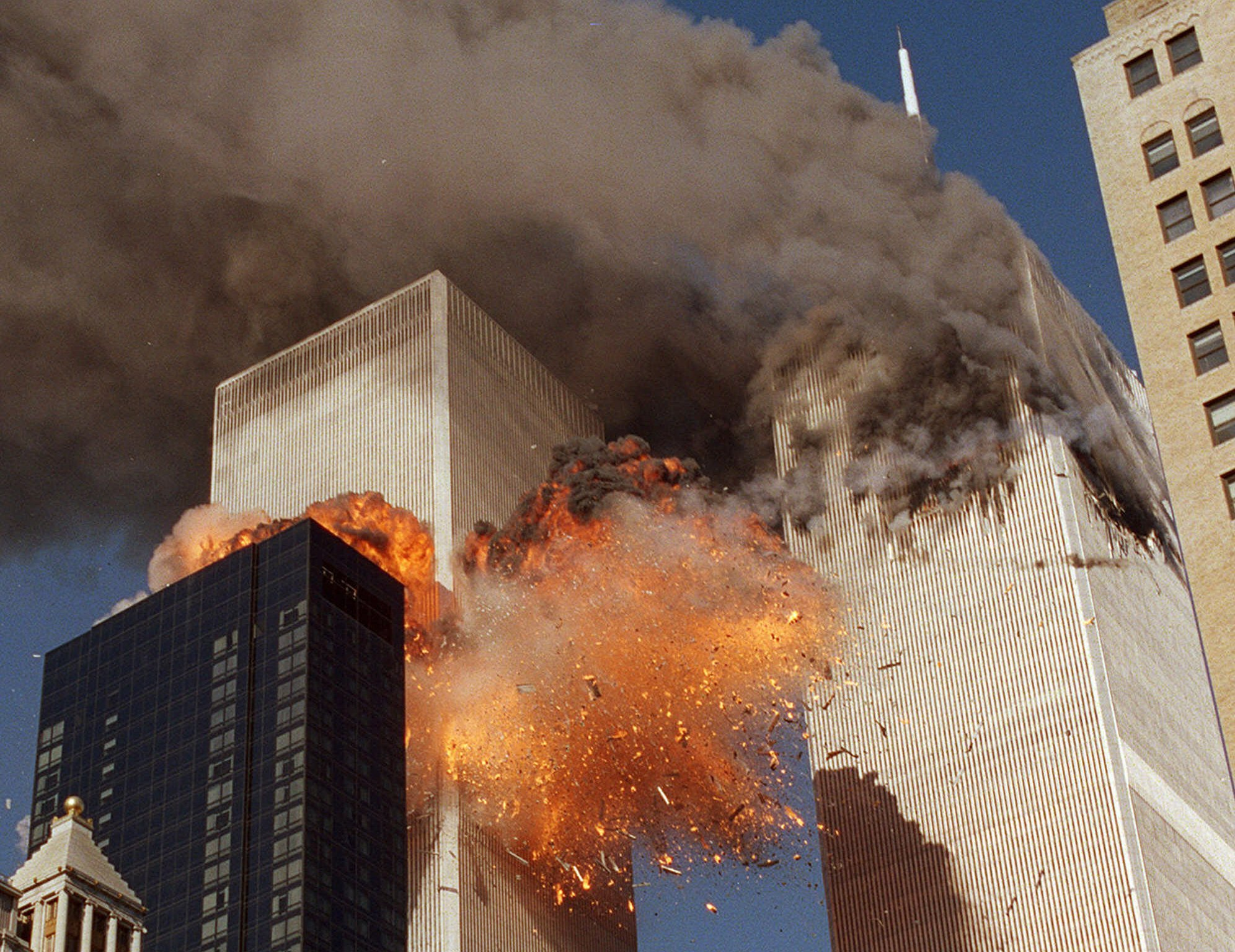 Students Chilling Private Footage Of 9/11 Attacks Goes Viral Again PA 3913821