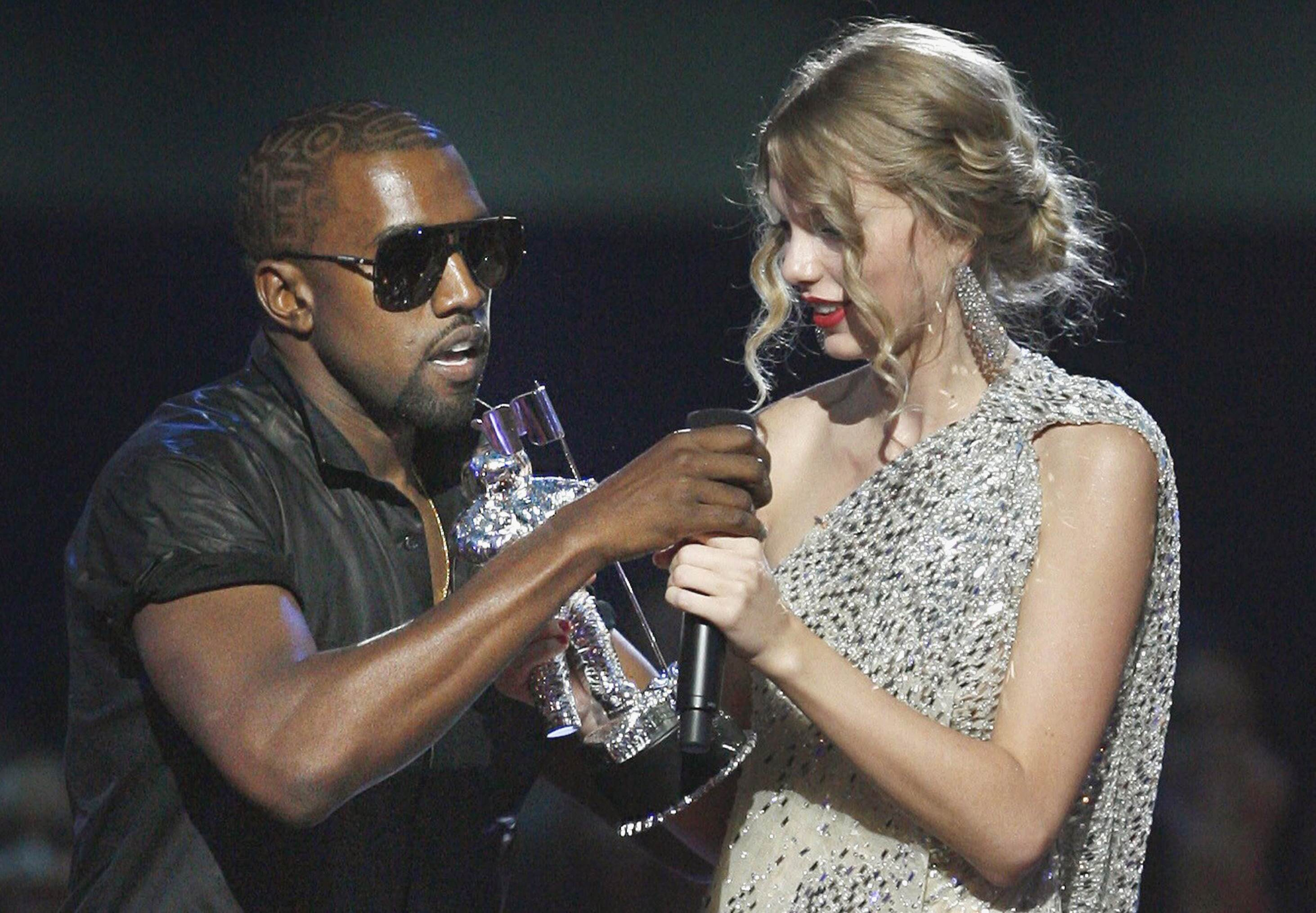 Kanye West Is Speaking Out About Taylor Swift Again PA 7805494