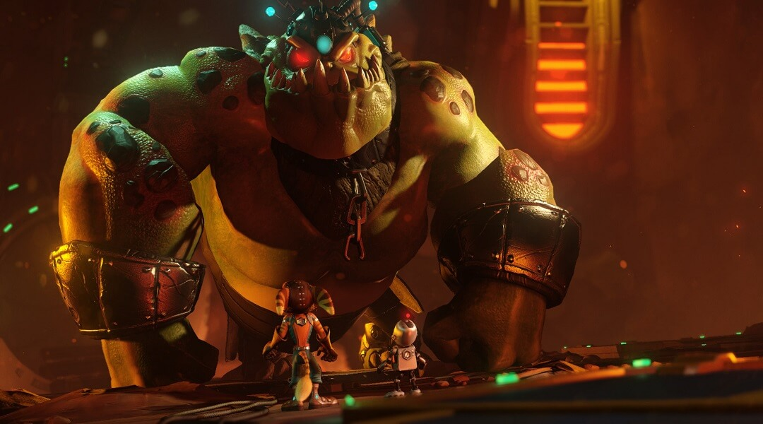 Ratchet-and-Clank-Remake-Snagglebeast