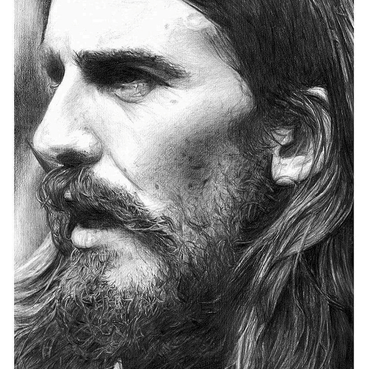 Former Model Now Creates Incredible Photo Real Portraits Using Pencil SWNS BEATLES DRAWINGS 02