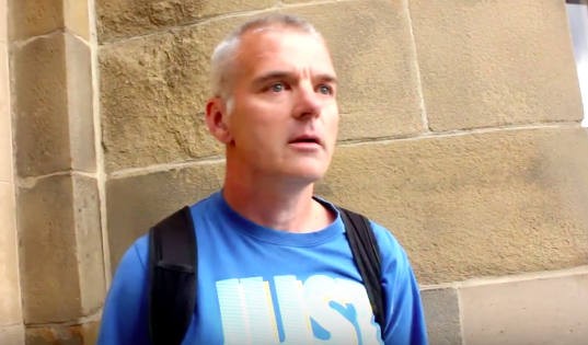 Paedophile Faints After Being Confronted By Vigilante Group Screen Shot 2016 04 05 at 11.35.09