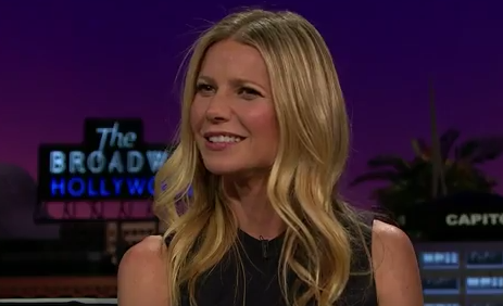 James Corden Fires Shots At Gwyneth Paltrow For Ridiculous Beauty Treatments Screen Shot 2016 04 20 at 19.32.42