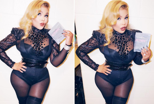 People Are Worried About Lil Kim After Her Latest Instagram Post Screen Shot 2016 04 25 at 11.50.16