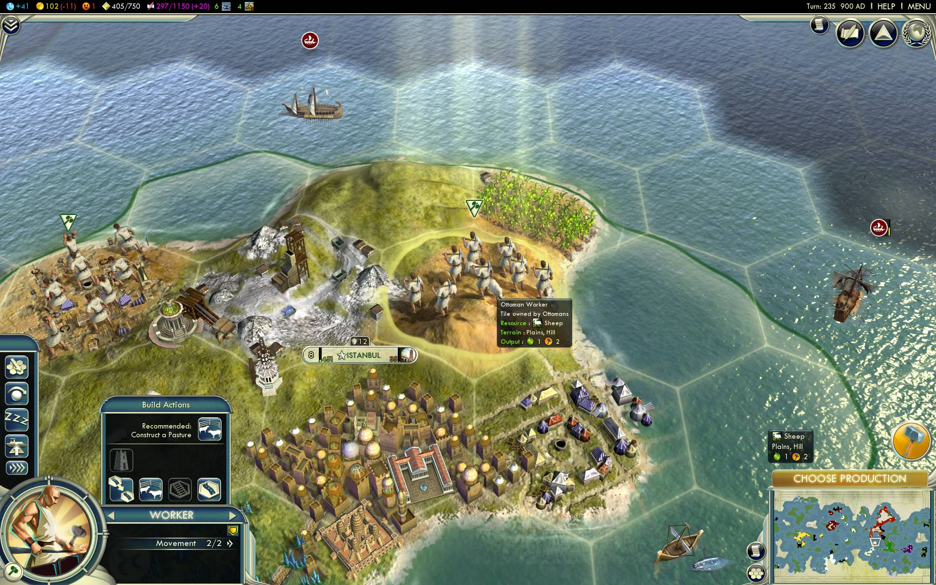 The Most Dangerously Addictive Games Of All Time Sheep on hills Civ5