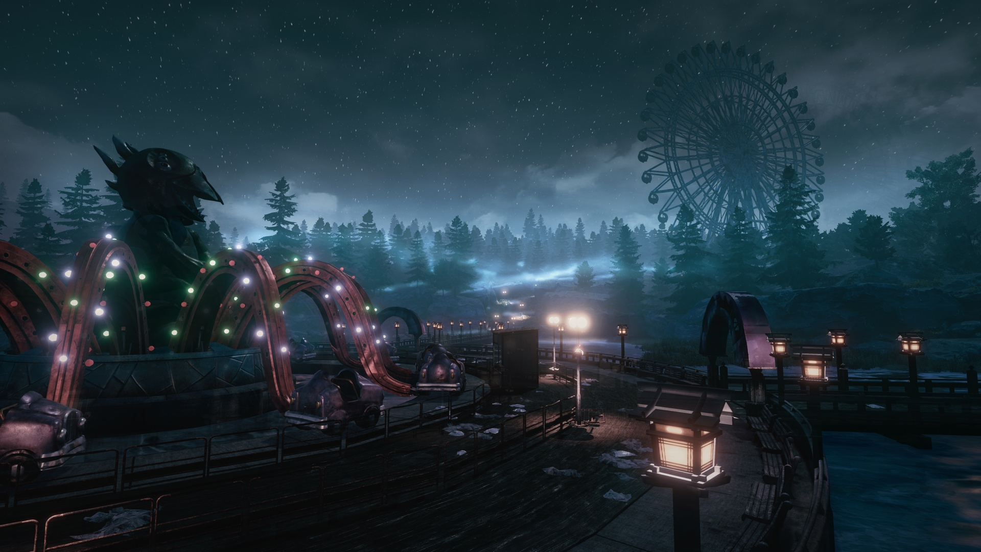 Terrifying Horror Game The Park Gets PS4/Xbox One Release Date The Park Screenshot 2 3240.0