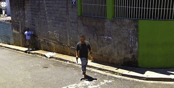 These Are The Weirdest, Most Shocking Things On Google Earth Was this man holding a gun 425715