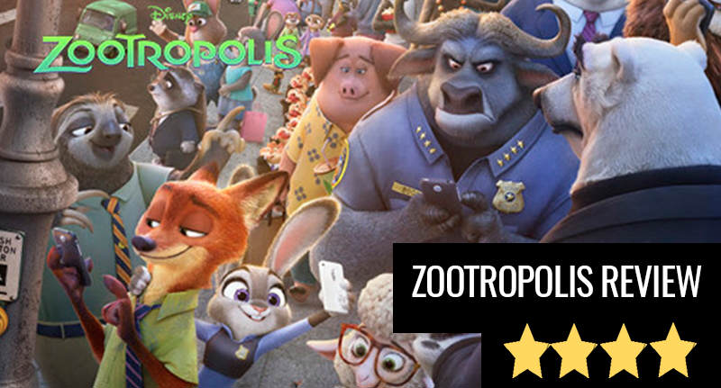 Zootropolis Is A Hilarious And Relevant Movie That I Cant Recommend Highly Enough Zootropolis thumb