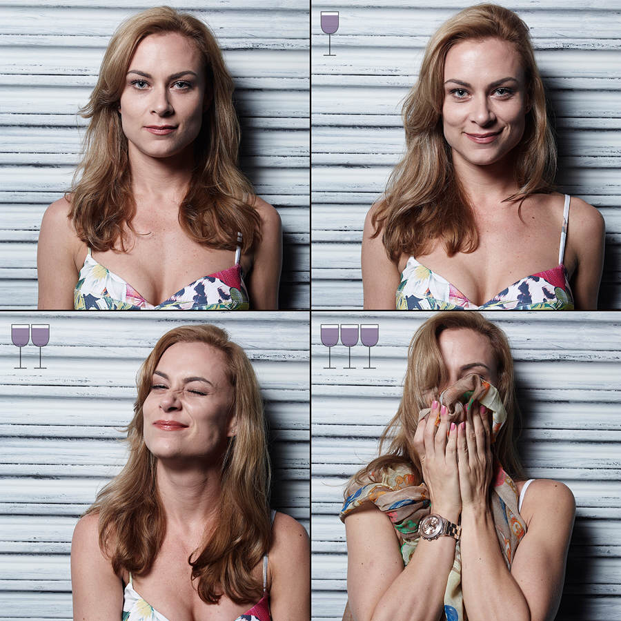 Amazing Photos Capture How People Look After A Few Drinks alberti42