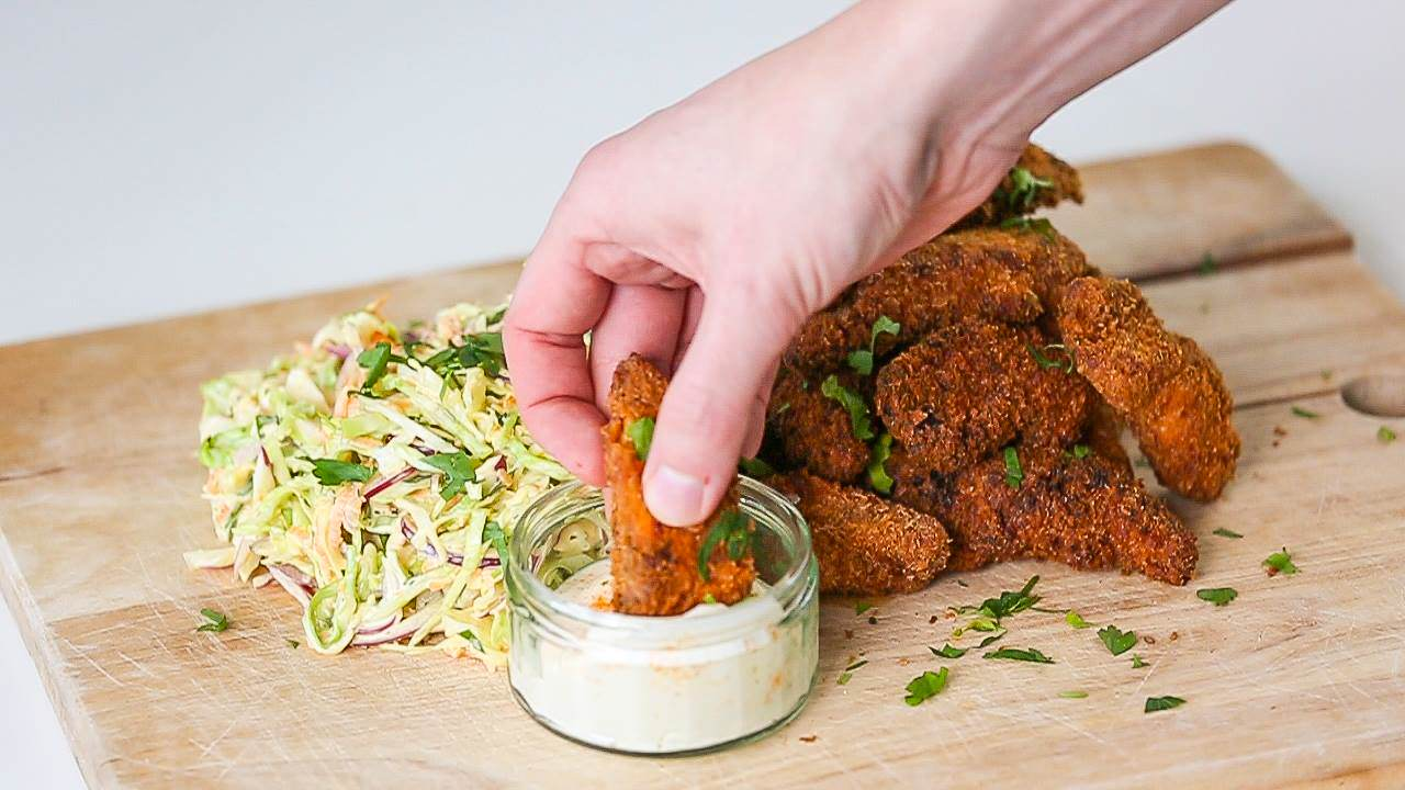 Heres How To Make Our Southern Fried Chicken And Slaw chicken2