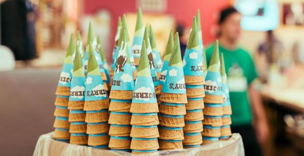 Today Is Ben & Jerry's Free Cone Day And You Can Have As Many As You Like cones 2