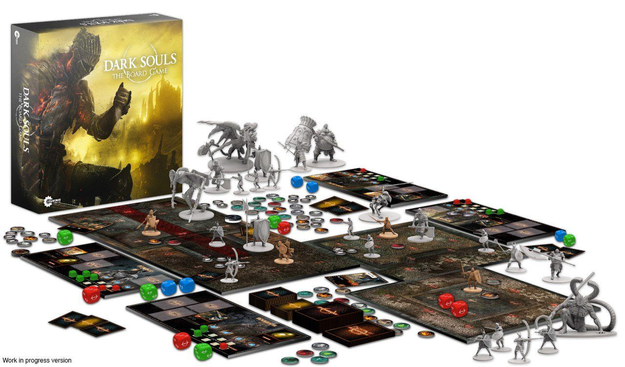 Dark Souls Board Game Funded In Ridiculous Time dark souls board game.0