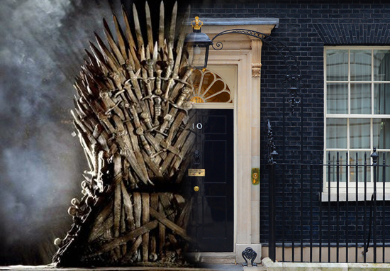 downing street throne