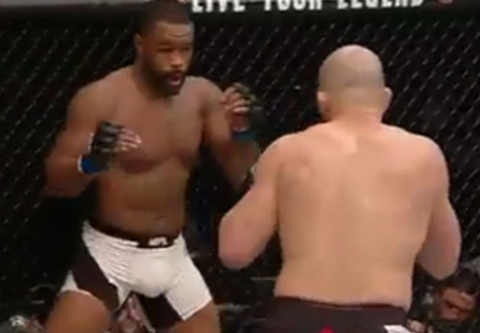 Rashad Evans At A Low Following Embarrassing First Round Knockout evans1 1