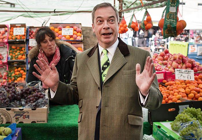 David Cameron Wants Politicians To Publish Tax Returns, Nigel Farage Says No farage3