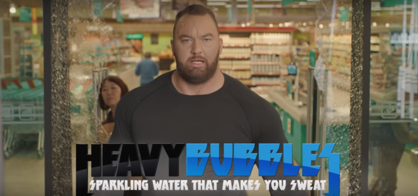 The Mountain Releases Brand Of Water That Makes You Strong heavy bubbls