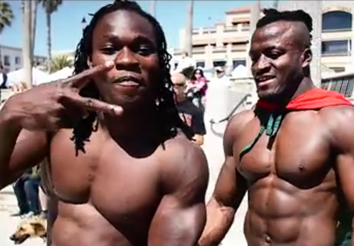 These Guys Got Absolutely Ripped Without Any Equipment Or Supplements hench1