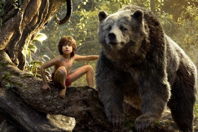 The Jungle Book Is A Gorgeous And Exciting Watch, But Weve Seen It Before jungle book 2016 posters mowgli baloo 640x426